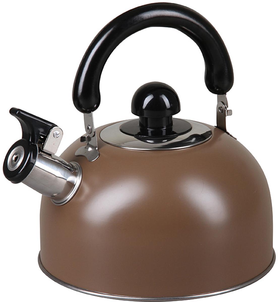 Чайник Pomi d'Oro PSS-650012, со свистком, 2,5 л. 77.858@27415 чайник riess pastell со свистком цвет розовый 2 л