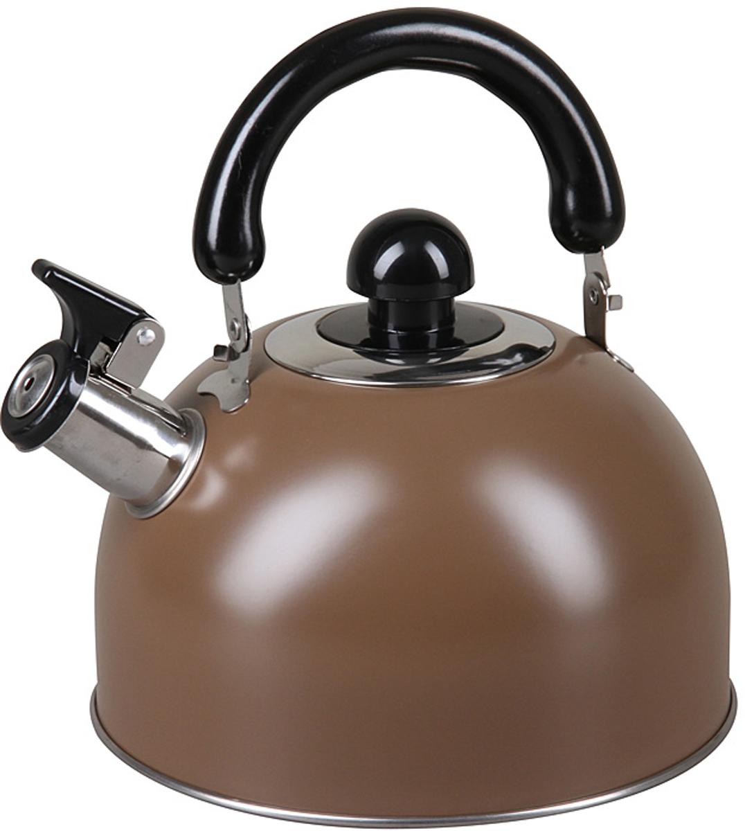 Чайник Pomi d'Oro со свистком Объем: 3,5 л, полезный объем 3,0 лОсобенности Удобная не нагревающаяся бакелитовая ручка Матовая полировка Высококачественная нержавеющая сталь Удобное открытие крышки носика Свистит при закипании воды Пригоден для мытья в посудомоечной машине