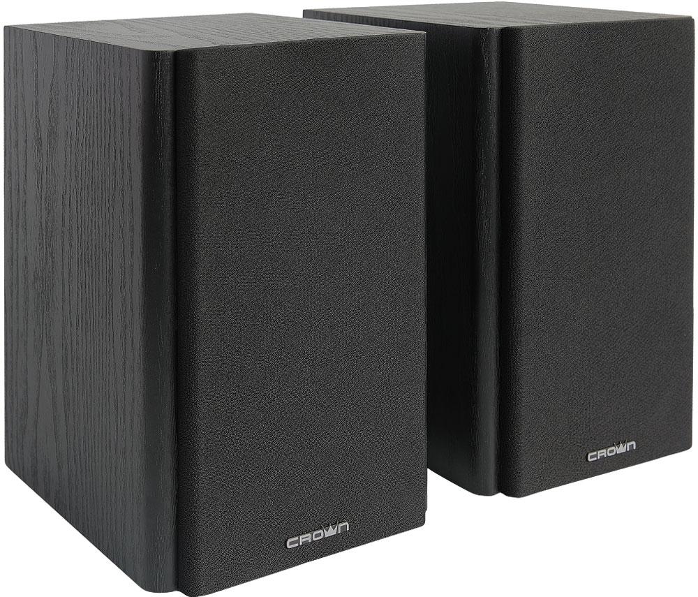 Crown Micro CMS-240, Black акустическая системаCM000001820Стереосистема для качественного воспроизведения аудио с компьютера, ноутбука или мобильного устройства. Мощности с лихвой хватит для полного акустического охвата помещения площадью 20-30кв.м. Деревянный корпус из МДФ гасит различные звуковые искажения, что делает звук более чистым и натуральным.