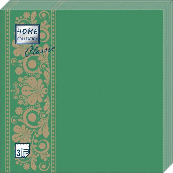Салфетки бумажные Изумруд, 3-слойные, 33 х 33 см, 20 шт салфетки 3 х слойные katarina оптом саратов