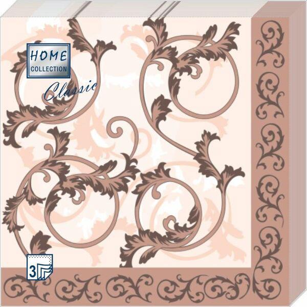 Салфетки бумажные Мишель, 3-слойные, 33 х 33 см, 20 шт салфетки 3 х слойные katarina оптом саратов