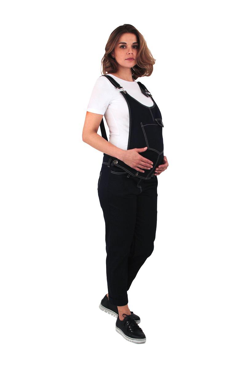 Универсальный_комбинезон_от_One_Plus_One_с_отстегивающимся_верхом,_можно_носить_и_после_беременности._Модель_выполнена_из_хлопкового_материала_с_добавлением_эластана.