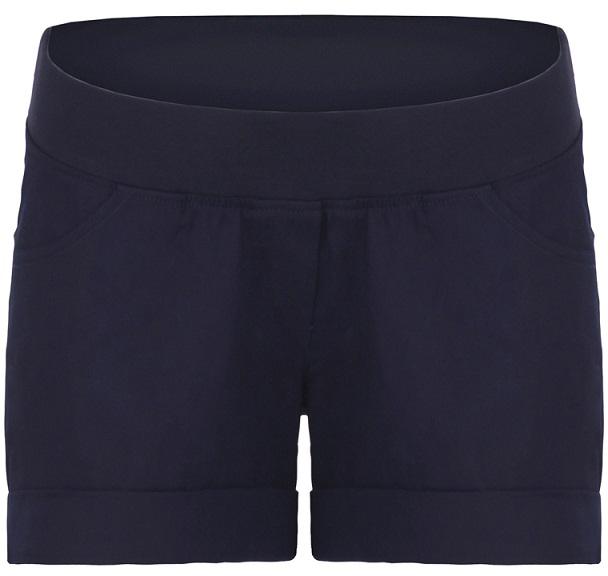 Шорты для беременных One Plus One, цвет: темно-синий. V428095. Размер 48 asymmetric one shoulder bodycon dress