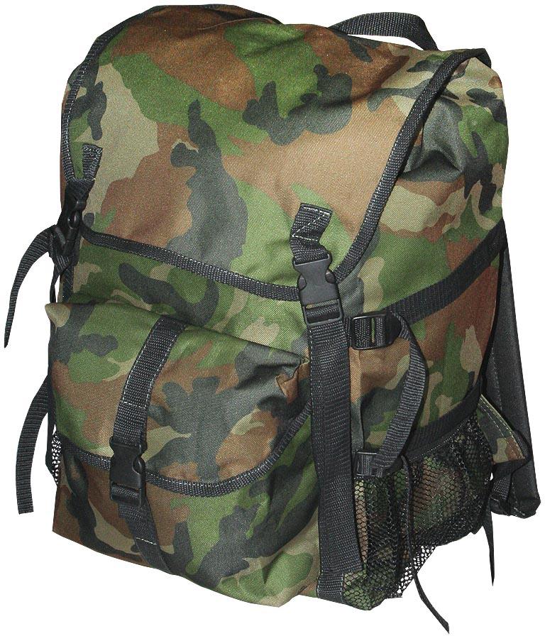 Рюкзак туристический Indigo Дачник, цвет: зеленый, черный, 50 лSM-183Рюкзак имеет 1 карман на фастексе, 2 боковых кармана и боковые утяжки. Спина мягкая. Материал: Оксфорд 600 с водоотталкивающим покрытием.