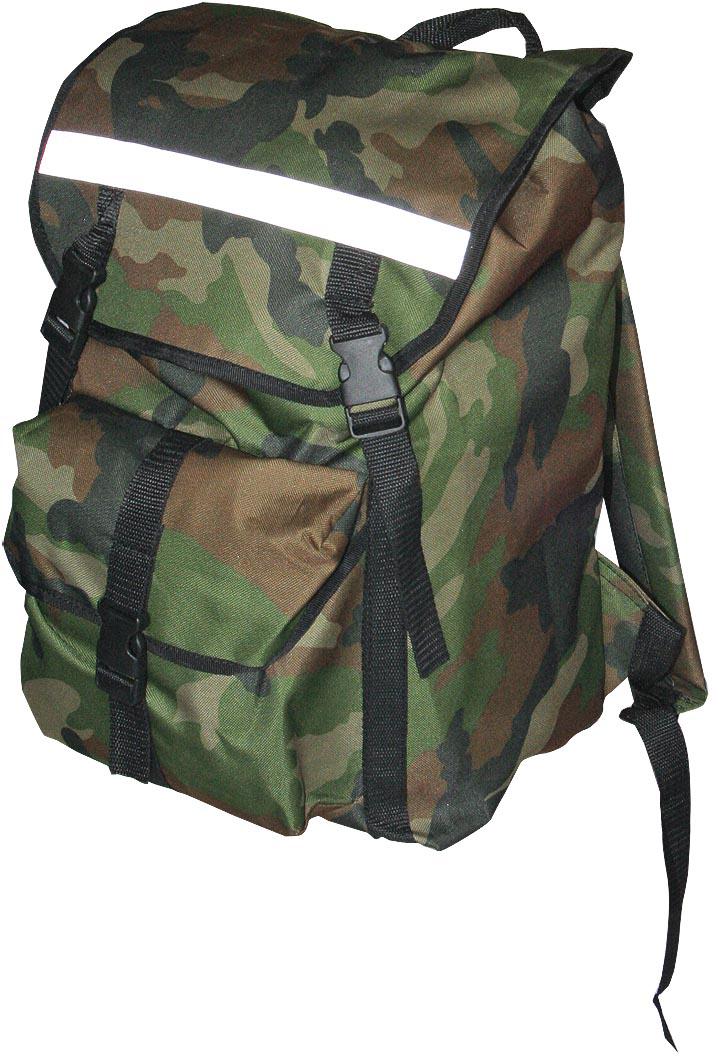 Рюкзак туристический Indigo Дачник, цвет: зеленый, черный, 35 лSM-181Рюкзак имеет 1 карман на фастексе, 2 боковых кармана и боковые утяжки. Спина мягкая. Материал: Оксфорд 600 с водоотталкивающим покрытием.