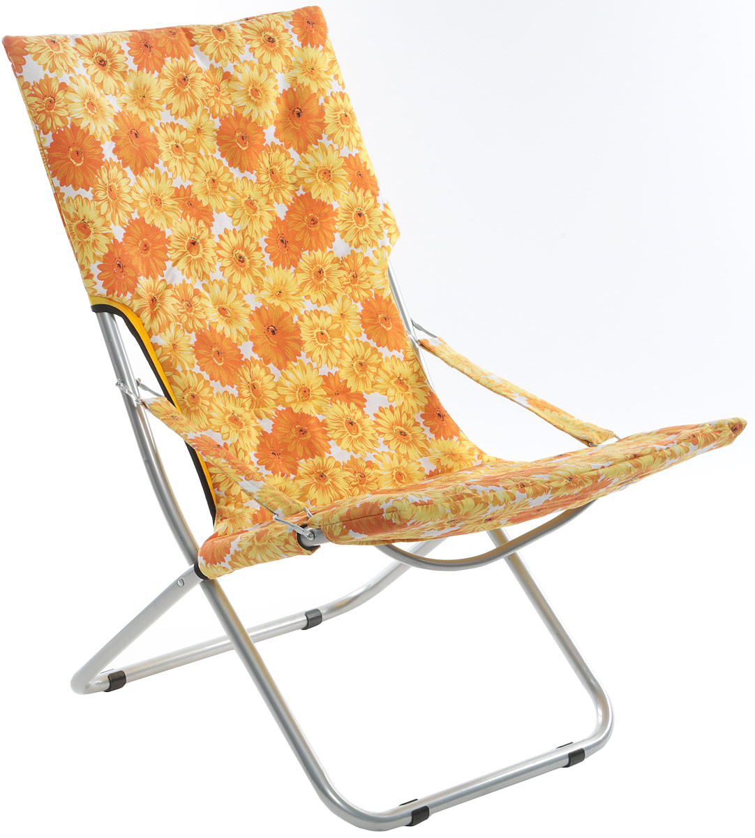 Кресло складное Wildman, цвет: желтый, 73 х 60 х 100 см