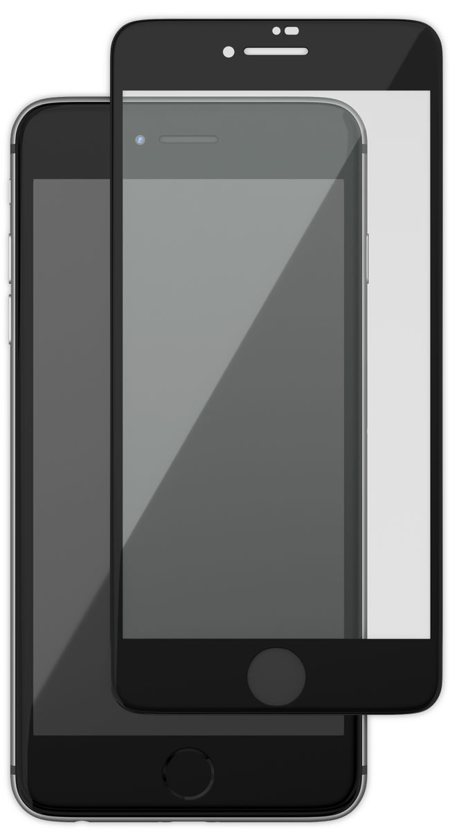 uBear GL14BL03-I8 защитное 3D стекло для Apple iPhone 8/7, BlackGL14BL03-I8Защитное стекло 3D Full Cover для Apple iPhone 8/7 с чёрной рамкой надежно защитит экран смартфона от царапин, повреждений, влаги и ударов. Изготовлено из специального обработанного стекла, с повышенной твердостью 9Н. Благодаря своим закругленным краям, идеально покрывает всю поверхность экрана, обеспечивая безупречную защиту дисплея со всех сторон. Кроме того, данная модель сможет не только предотвратить появление следов от пальцев и уменьшить блики на дисплее гаджета, но и сохранить первозданный внешний вид вашего iPhone. В комплект входят вспомогательные стикеры для приклеивания стекла, пластиковая карта, влажная салфетка, а также фирменная салфетка с логотипом uBear.