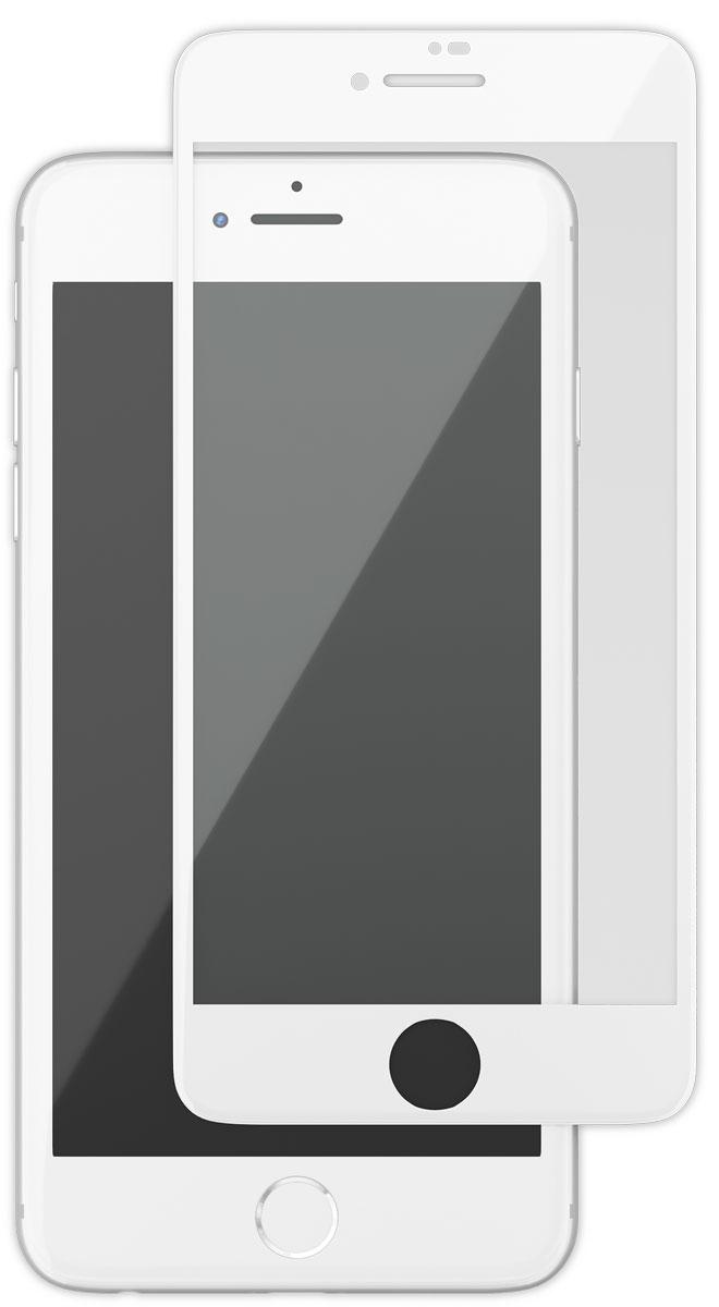 uBear GL14WH03-I8 защитное 3D стекло для Apple iPhone 8/7, WhiteGL14WH03-I8Защитное стекло 3D Full Cover для Apple iPhone 8/7 с белой рамкой надежно защитит экран смартфона от царапин, повреждений, влаги и ударов. Изготовлено из специального обработанного стекла, с повышенной твердостью 9Н. Благодаря своим закругленным краям, идеально покрывает всю поверхность экрана, обеспечивая безупречную защиту дисплея со всех сторон. Кроме того, данная модель сможет не только предотвратить появление следов от пальцев и уменьшить блики на дисплее гаджета, но и сохранить первозданный внешний вид вашего iPhone. В комплект входят вспомогательные стикеры для приклеивания стекла, пластиковая карта, влажная салфетка, а также фирменная салфетка с логотипом uBear.