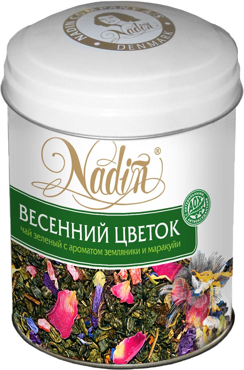 Nadin Весенний цветок чай зеленый листовой, 75 г