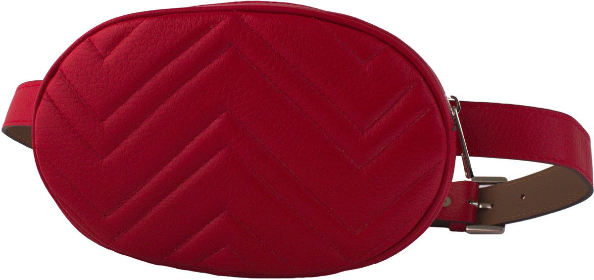 Сумка кросс-боди женская Dimanche Регби, цвет: красный. 231/33
