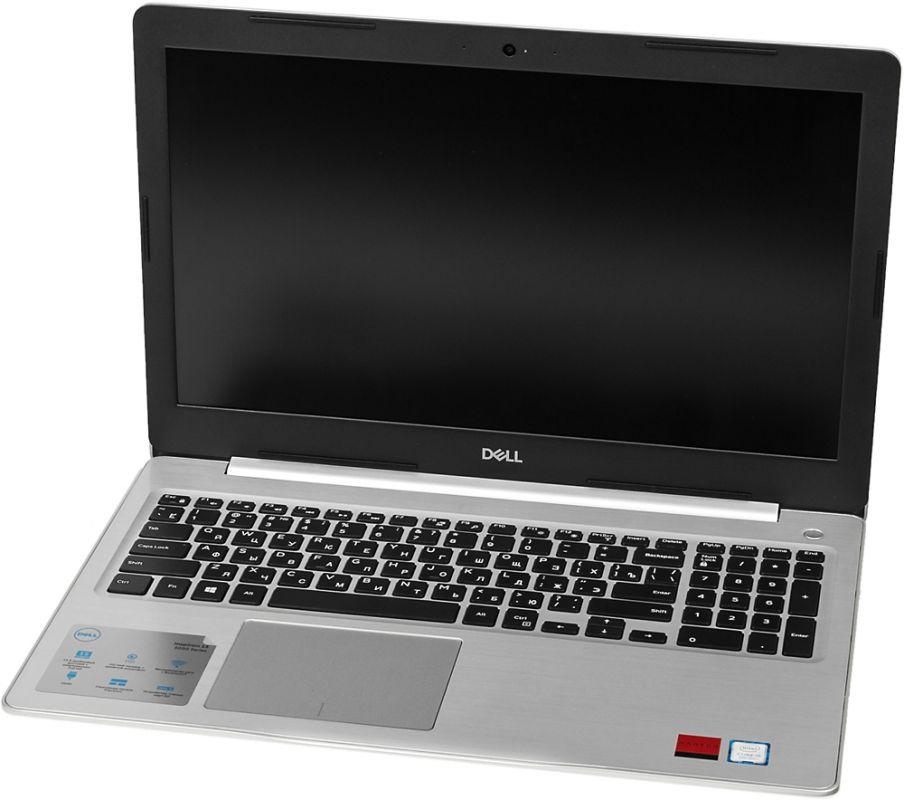 Dell Inspiron 5570-8749, Silver5570-8749Ноутбук Dell Inspiron 5570 с диагональю 15,6 обеспечивает исключительное качество изображения, отличаетсяпотрясающим дизайном и оснащен целым рядом функций для полной свободы развлечений в любом месте.Предельная четкость. Оцените высочайшую четкость и детализацию изображения на несенсорном дисплее сдиагональю 15,6, разрешением Full HD и антибликовым покрытием.Безупречная потоковая передача. Технология SmartByte обеспечивает плавность и стабильность в играх и припотоковой передаче, чтобы вы не упустили ни одной секунды. Это сетевое решение предоставляет ключевымприложениям необходимую пропускную способность для оптимальной производительности.Слышать каждый звук. Технология Waves MaxxAudio Pro обеспечивает высочайшее качество передачи звука,поэтому вы сможете наслаждаться четким насыщенным звучанием при прослушивании концертов, просмотрефильмов и в играх.Максимальная производительность. Процессор Intel Core 6-го поколения обеспечивает высокуюпроизводительность при компактных размерах.Благодаря увеличенной производительности, расширенной пропускной способности, невероятнойэнергоэффективности памяти DDR4 вы сразу же сможете работать с приложениями и одновременно выполнятьнесколько задач на профессиональном уровне.Разъемы под любые задачи. Порт USB Type-C 3.1 обеспечивает удобное и быстрое подключение: он заряжаетустройство, подключается к сети Ethernet, а также поддерживает вывод аудио- и видеосигнала.Удобный оптический привод. Смотрите фильмы, играйте в игры, слушайте любимую музыку и записывайтерезервные копии на собственные диски с помощью DVD-привода.Точные характеристики зависят от модели.Ноутбук сертифицирован EAC и имеет русифицированную клавиатуру и Руководство пользователя