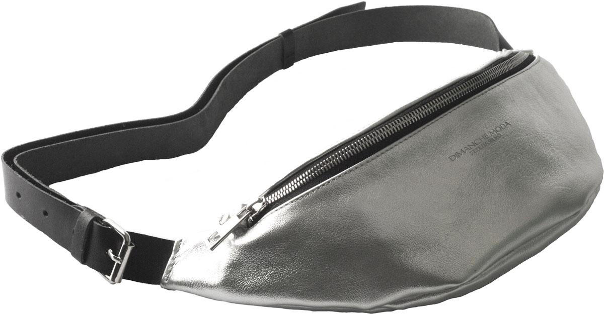 Удобная поясная сумочка. Закрывается на молнию, внутри карман на молнии. Ремень регулируется по длине на объем от 90 до 120 см. Удобно носить как на поясе, так и, как портупею, на груди.