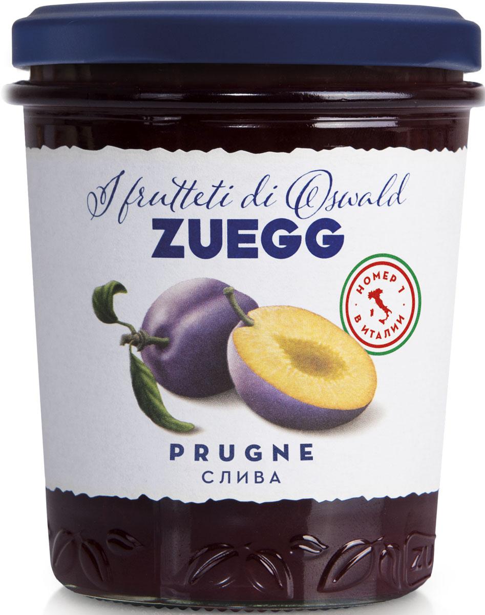 Zuegg Слива конфитюр, 330 г конфитюр zuegg экстра абрикос 320г