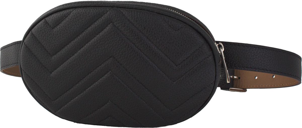 Сумка кросс-боди женская Dimanche Регби, цвет: черный. 231/1F
