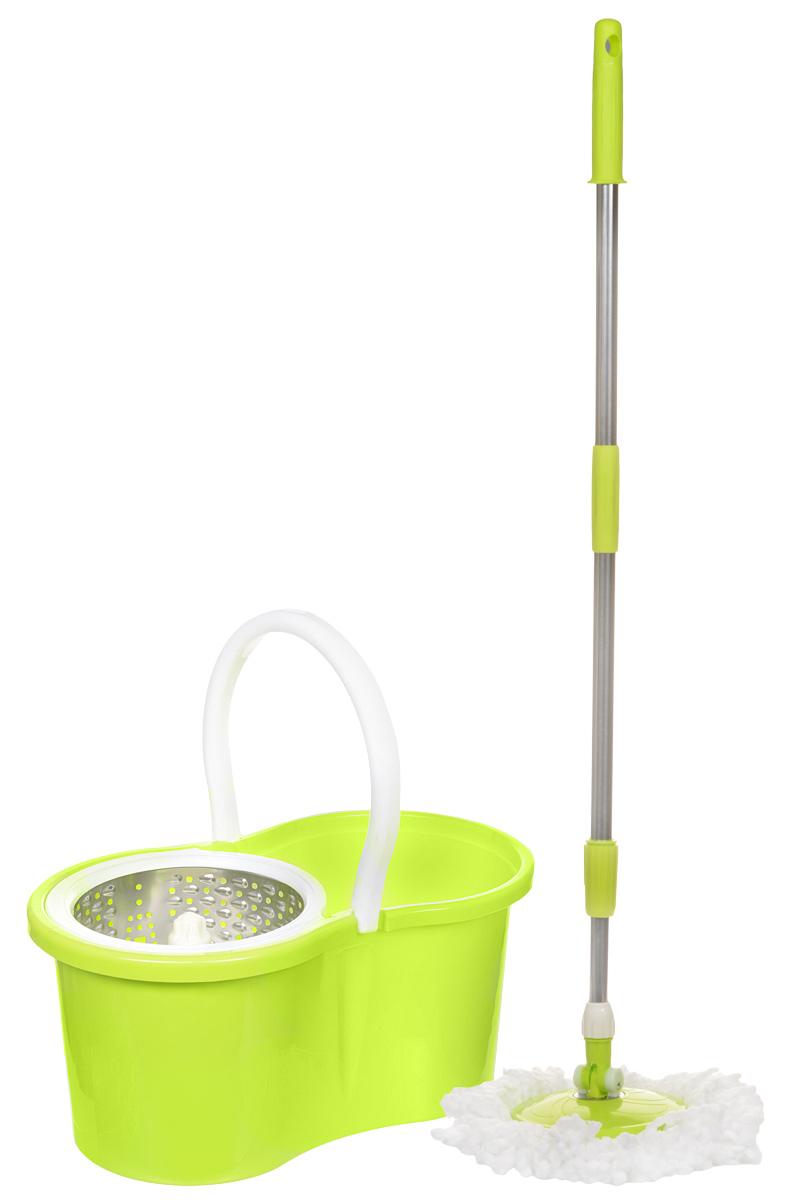 Набор для уборки Ruges Верта, цвет: желтый, 7 предметов