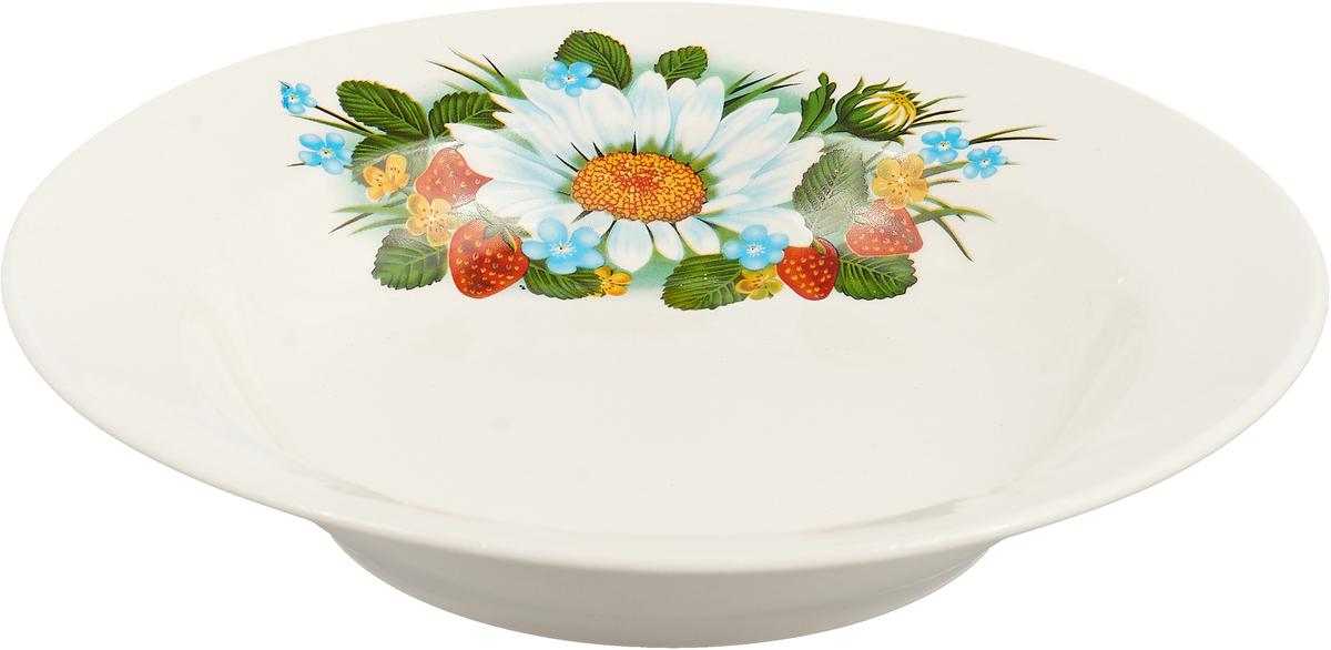 """Тарелка глубокая Керамика ручной работы """"Красный мак"""" понравится любителям вкусной и  полезной домашней пищи. Такая посуда практична и красива, в ней можно хранить и  подавать разнообразные блюда. При многократном использовании изделие сохранит свой  вид и выдержит мытье в посудомоечной машине. В керамической емкости горячая пища долго сохраняет свое тепло, остуженные блюда  остаются прохладными. Изделие не выделяет вредных веществ при нагревании и длительном хранении за счет  экологичности материала."""