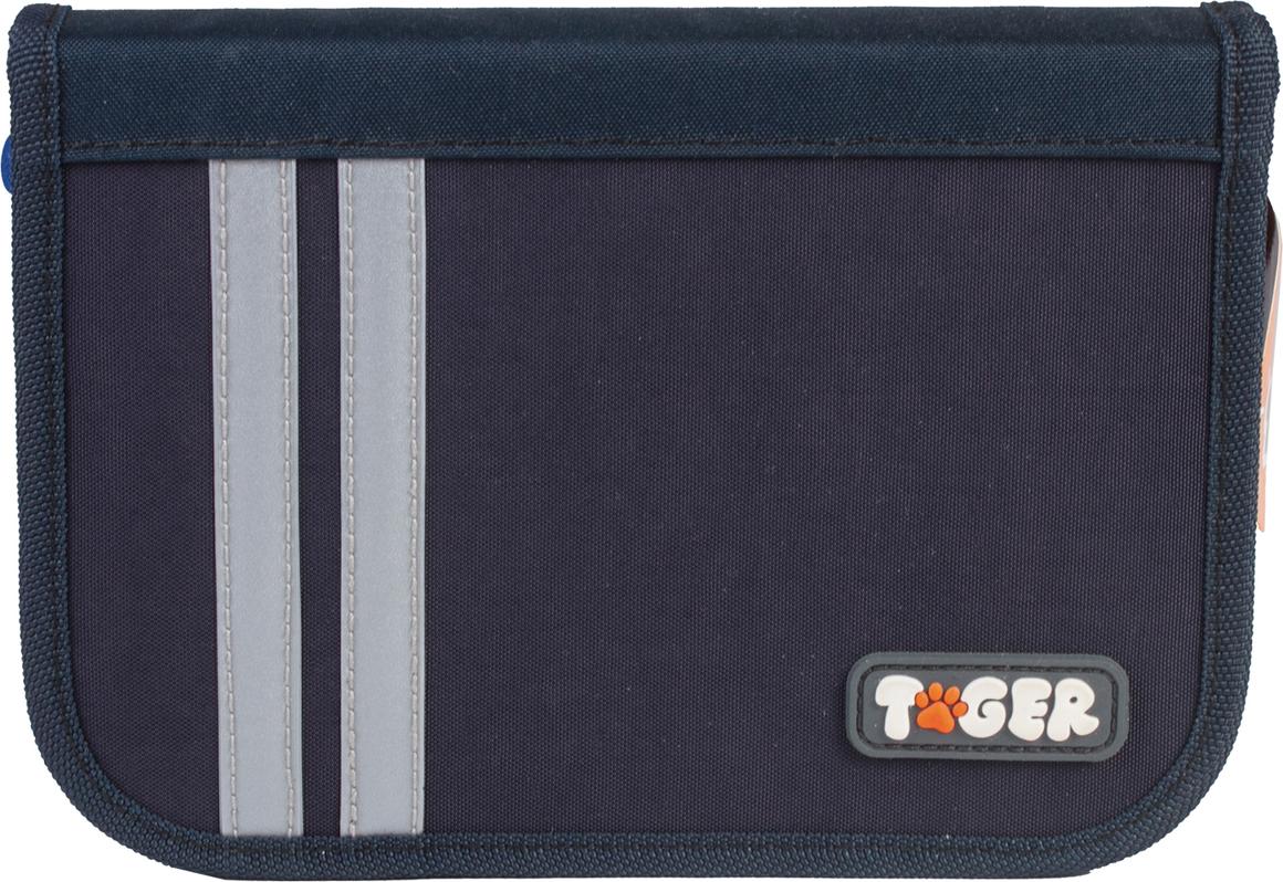 Tiger Family Пенал Cool Blue цвет черный 226961 корейский канцелярские канцелярские акварель ручка гелевые ручки комплект 10шт цвет kandelia