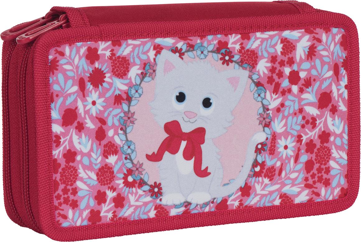 Tiger Family Пенал Dreamy Kitten цвет красный 227002 корейский канцелярские канцелярские акварель ручка гелевые ручки комплект 10шт цвет kandelia