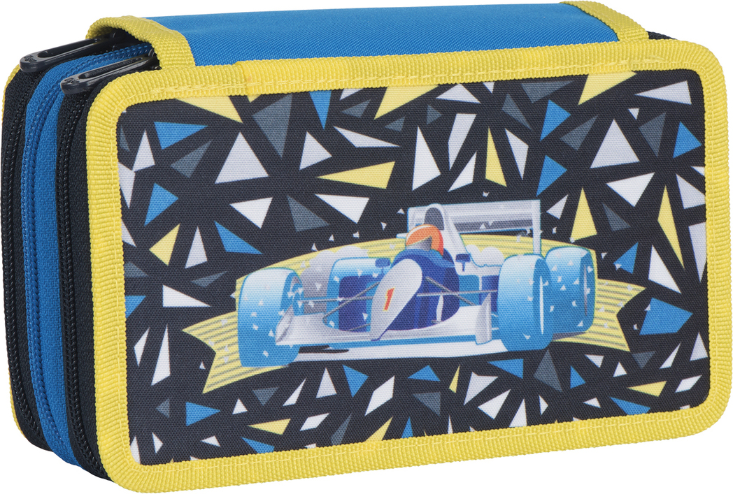 Tiger Family Пенал Dynamile Racer цвет синий 227004 - Пеналы