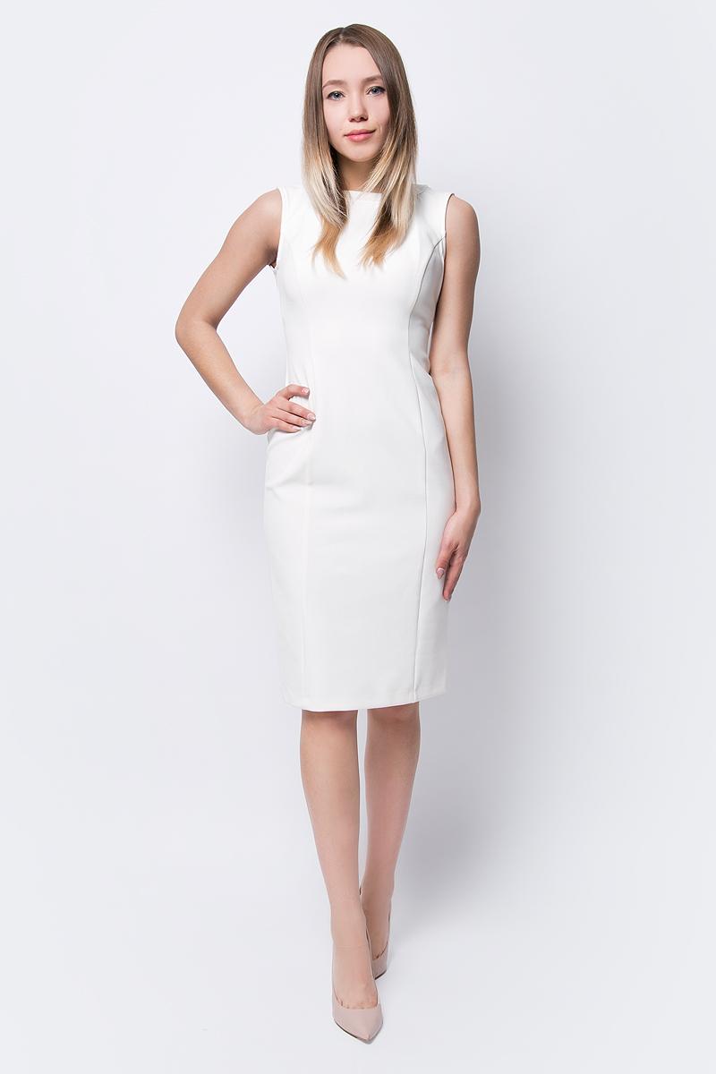 Платье adL, цвет: бежевый. 12433665000_019. Размер XS (40/42) платье adl adl ad005ewzad66
