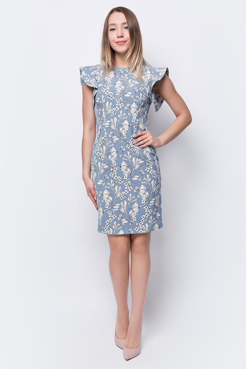 Платье adL, цвет: голубой. 12434229000_203. Размер XS (40/42) платье adl adl ad005ewqdk48