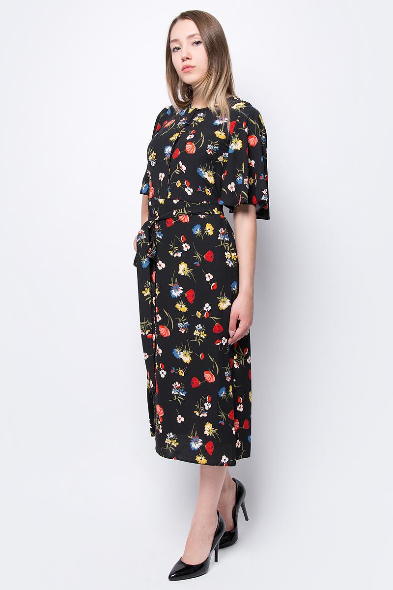 Платье adL, цвет: черный. 12433559000_201. Размер XS (40/42) платье adl adl ad005ewqdk48