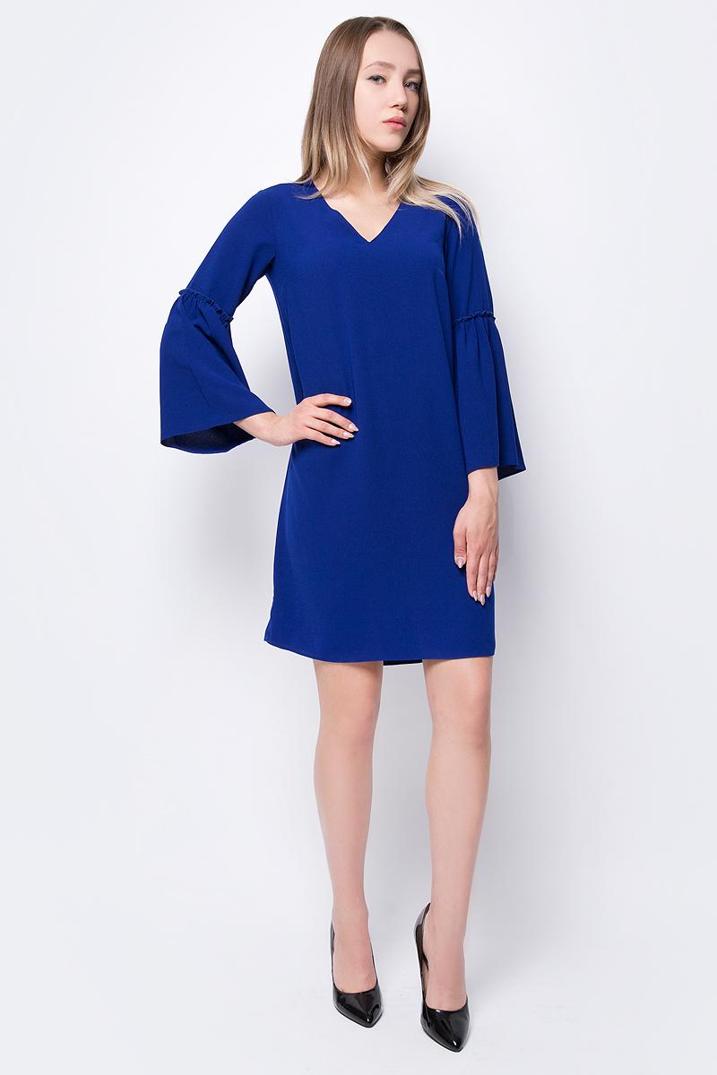 Купить Платье женское adL, цвет: синий. 12432072000_022. Размер XS (40/42)