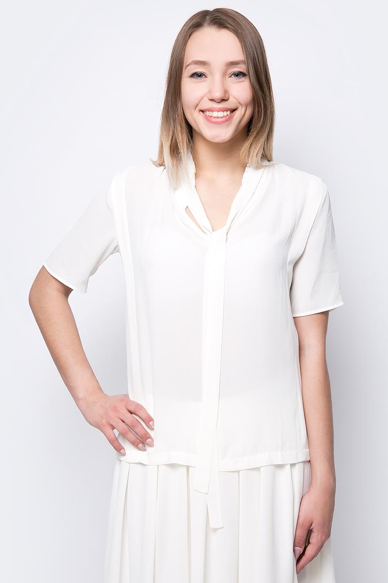 Блузка женская adL, цвет: бежевый. 11533804000_019. Размер XS (40/42)