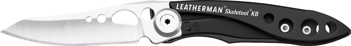 Мультитул Leatherman Skeletool KB, цвет: серебристый, черный