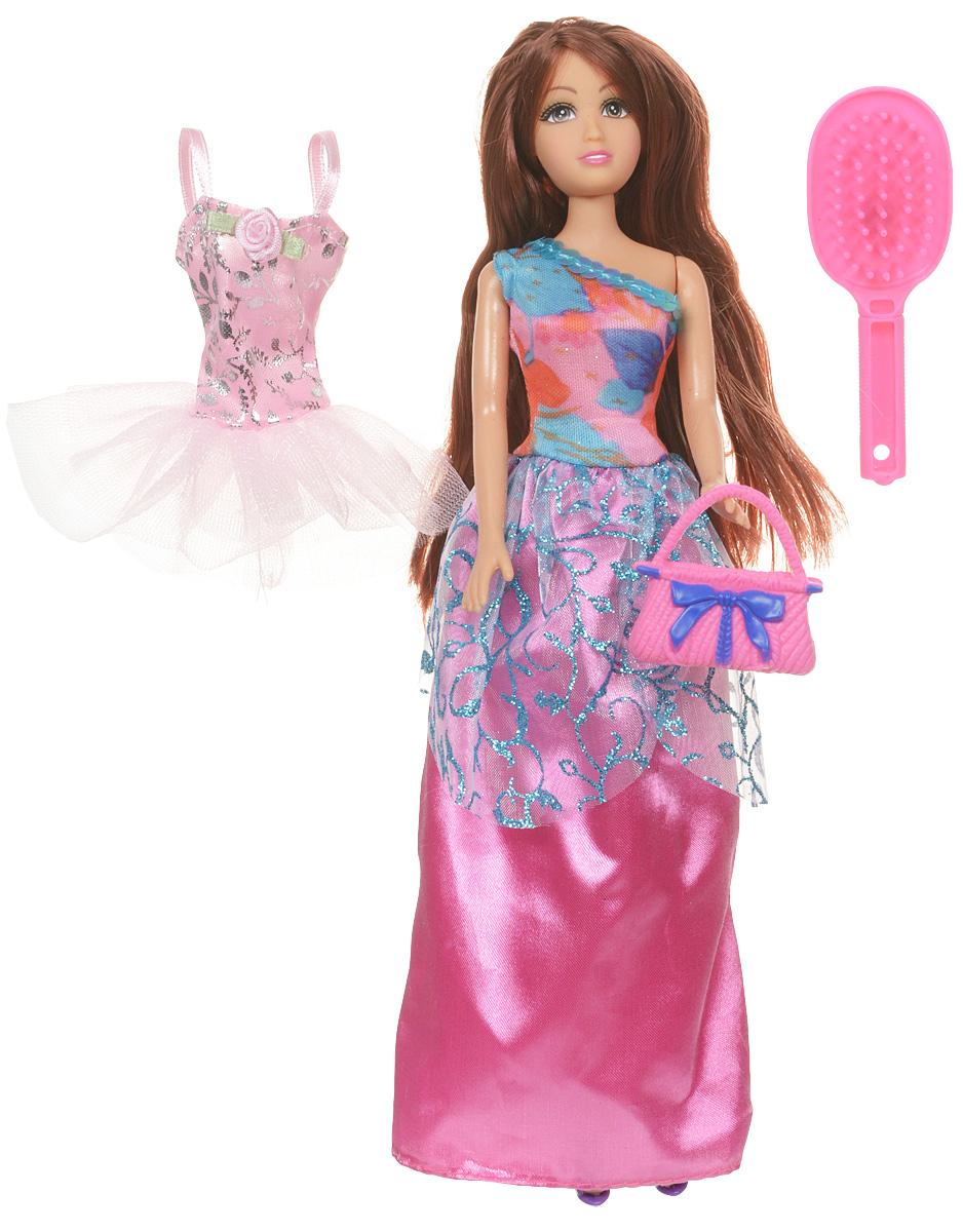 Funville Кукла Glimmer & Style цвет бального платья розовый настольная игра funville вызов морских глубин 11735