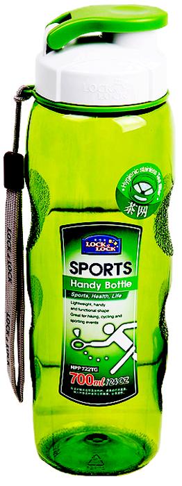 Бутылка спортивная Lock&Lock, цвет: зеленый, 700 мл lock