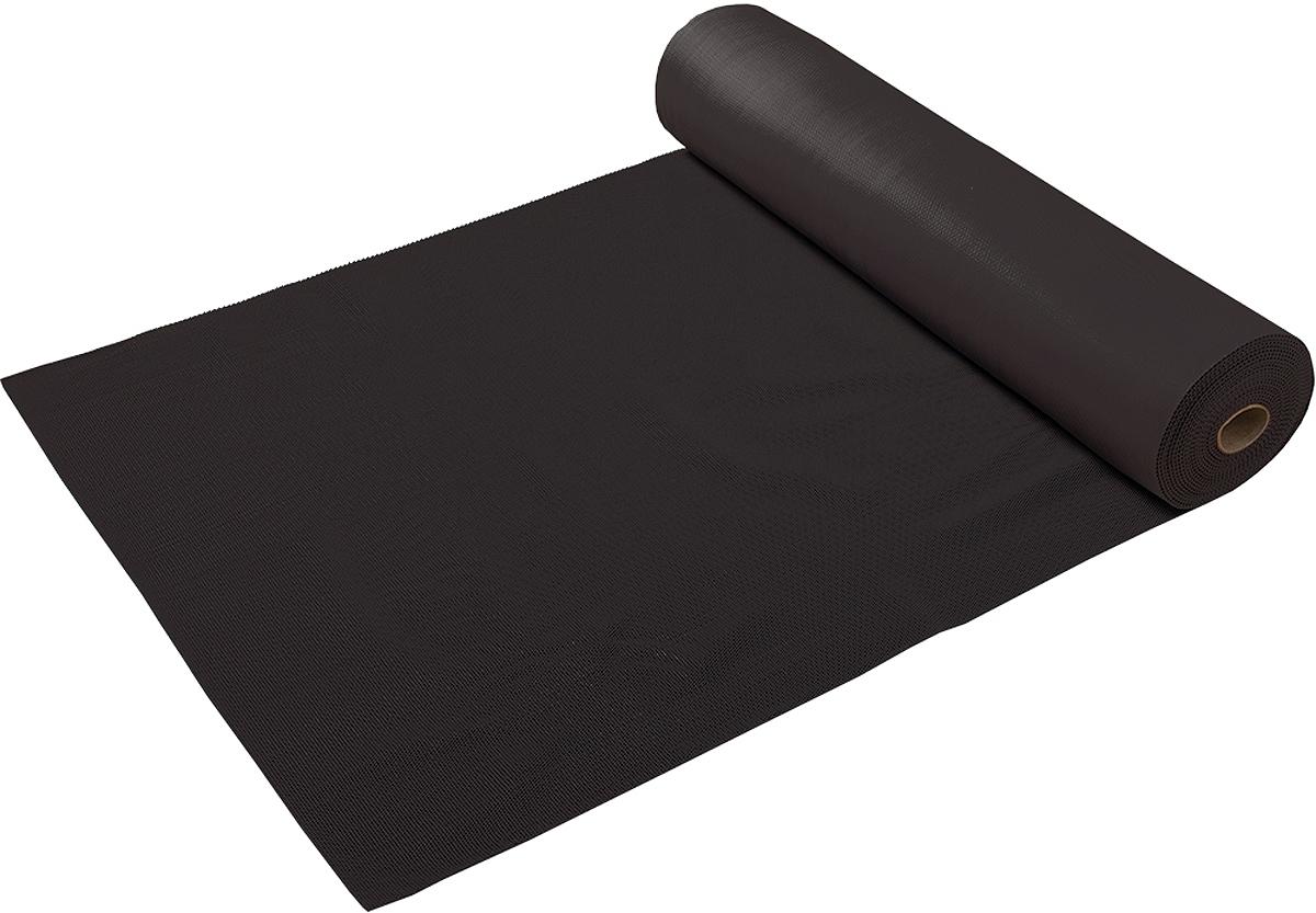 Коврик-дорожка Vortex Игольчатый, против скольжения, цвет: черный, 2,4 мм, 0,9 х 10 м коврик дорожка vortex zig zag против скольжения цвет черный 8 мм 0 9 х 10 м