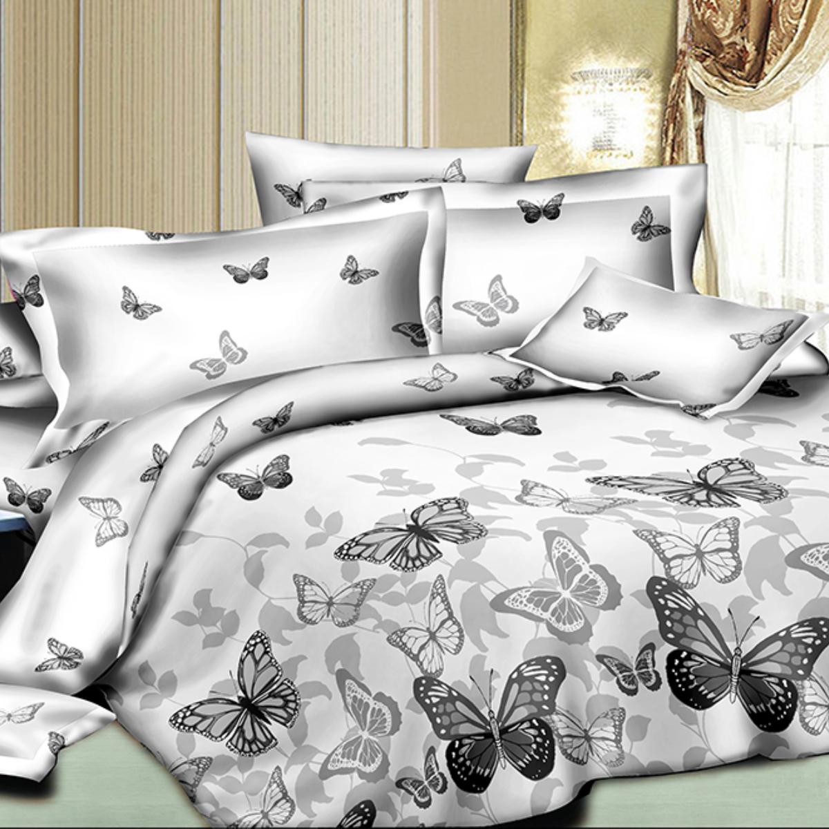 Комплект белья Letto, 2-спальный, наволочки 70х70. SM114-4SM114-4Классика в сатиновом исполнении - залог комфорта, модного дизайна и гармонии цвета в вашей спальне. Это отличный подарок любителям трендов. Сатин заслужено считается благородной тканью для постельного белья. Ему свойственна практичность, долговечность, мягкость и изысканный блеск, такая ткань прекрасно впитывает влагу во время сна, комфортна на ощупь и не требует особого ухода. Серия Letto Сатин - это современные дизайны в европейском стиле. Обращаем внимание, что наволочки могут отличаться от представленных на фотографии. Также может отличаться оттенок комплекта из-за разницы в цветопередаче мониторов.