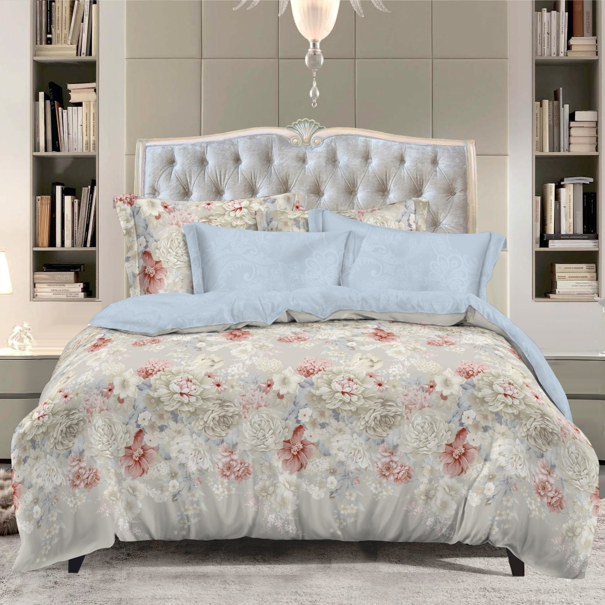 Классика в сатиновом исполнении - залог комфорта, модного дизайна и гармонии цвета в вашей спальне. Это отличный подарок любителям трендов. Сатин заслужено считается благородной тканью для постельного белья. Ему свойственна практичность, долговечность, мягкость и изысканный блеск, такая ткань прекрасно впитывает влагу во время сна, комфортна на ощупь и не требует особого ухода. Серия Letto Сатин - это современные дизайны в европейском стиле.   Обращаем внимание, что наволочки могут отличаться от представленных на фотографии. Также может отличаться оттенок комплекта из-за разницы в цветопередаче мониторов.