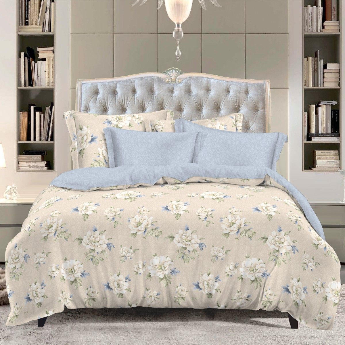 Комплект белья Letto, евро, наволочки 50х70. SM130-6SM130-6Классика в сатиновом исполнении - залог комфорта, модного дизайна и гармонии цвета в вашей спальне. Это отличный подарок любителям трендов. Сатин заслужено считается благородной тканью для постельного белья. Ему свойственна практичность, долговечность, мягкость и изысканный блеск, такая ткань прекрасно впитывает влагу во время сна, комфортна на ощупь и не требует особого ухода. Серия Letto Сатин - это современные дизайны в европейском стиле. Обращаем внимание, что наволочки могут отличаться от представленных на фотографии. Также может отличаться оттенок комплекта из-за разницы в цветопередаче мониторов.