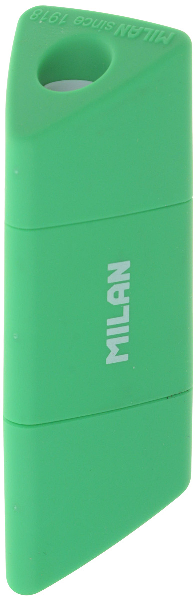 Milan Точилка Slide с контейнером цвет зеленый