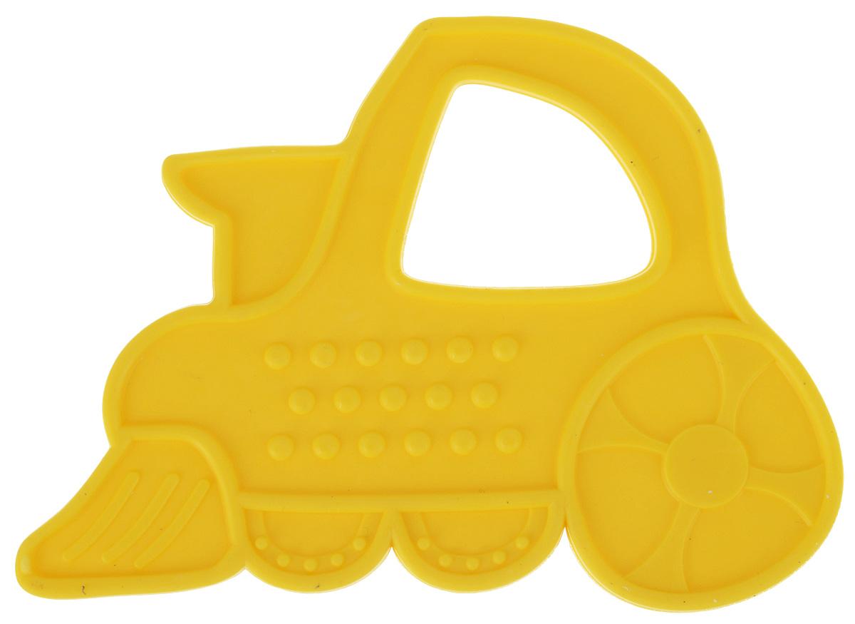 Пластмастер Прорезыватель Паровозик цвет желтый