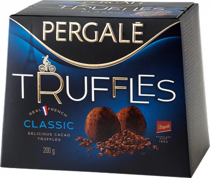 Pergale Трюфели классические, 100 г набор конфет pergale dark розы ассорти 382г