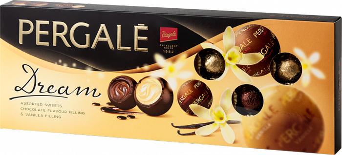 Pergale Pergale Dream набор шоколадных конфет, 178 г пудовъ кексики шоколадные 250 г