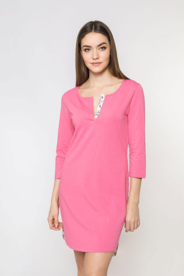 Платье домашнее женское Melado Pretty, цвет: ягодный. 8206P-60006.1S-523. Размер 52 платье домашнее melado вивьен цвет бежевый ml2170 01 размер 48