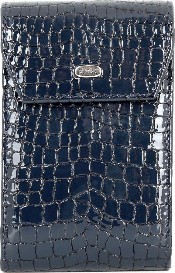 Визитница Petek 1855, цвет: темно-синий. 1114.091.08