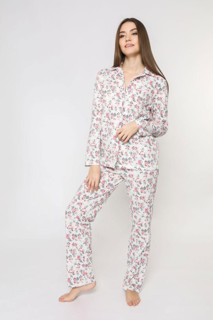 Пижама женская Melado Pretty, цвет: розовый. 8206P-80004.1S-054. Размер 50 брюки melado брюки аврора