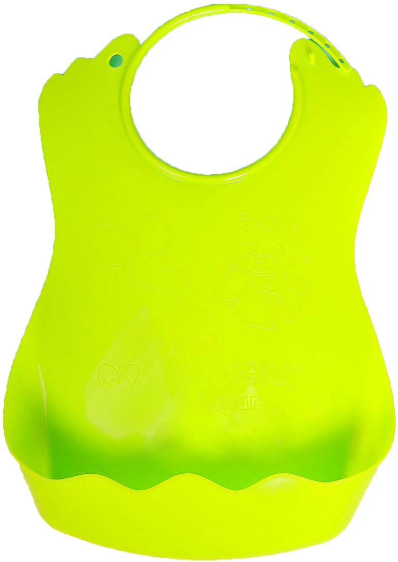 Нагрудник цвет зеленый 2382822, NoName