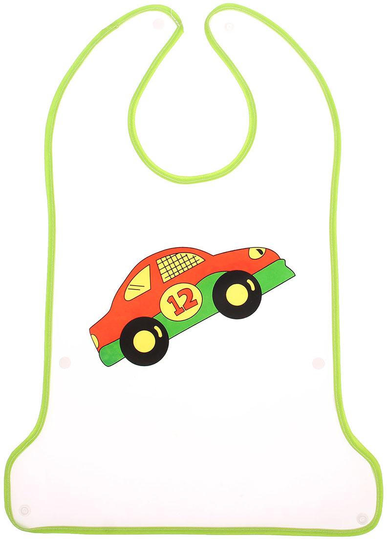 Крошка Я Нагрудник с карманом на липучке цвет зеленый крошка я нагрудник игрушки для малышек