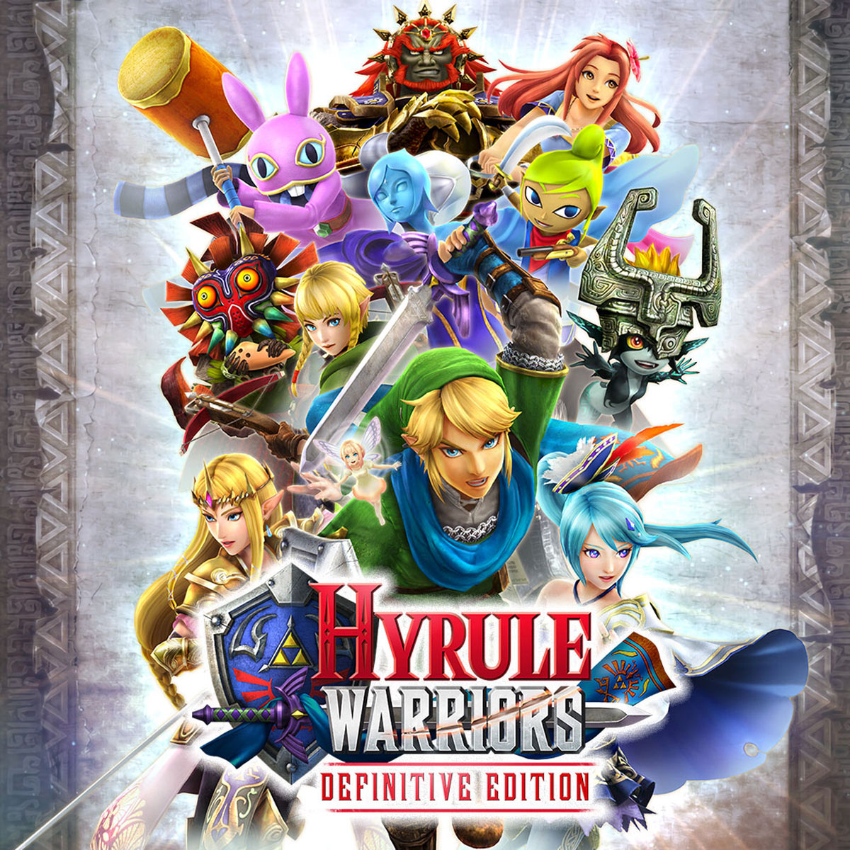 Hyrule Warriors: Definitive Edition (Nintendo Switch) hard nuts of history warriors