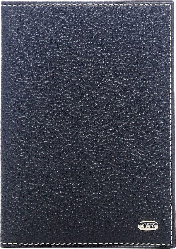 Обложка для паспорта Petek 1855, цвет: черный. 581.232.KD1