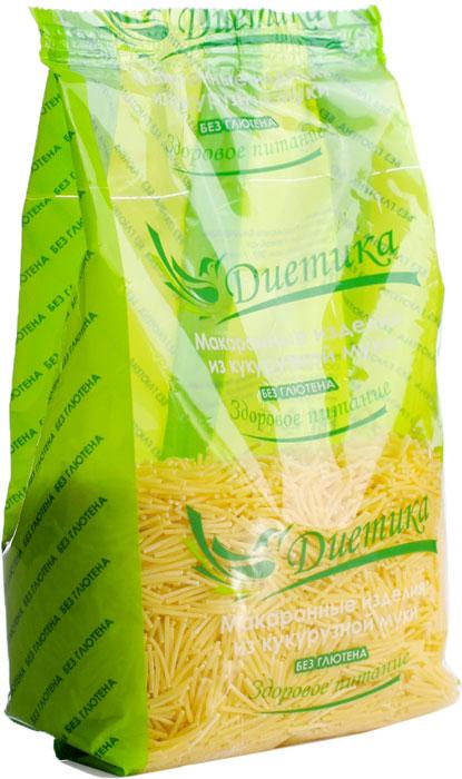 Диетика Вермишель кукурузная, 300 г макаронные изделия pastamania вермишель 430г