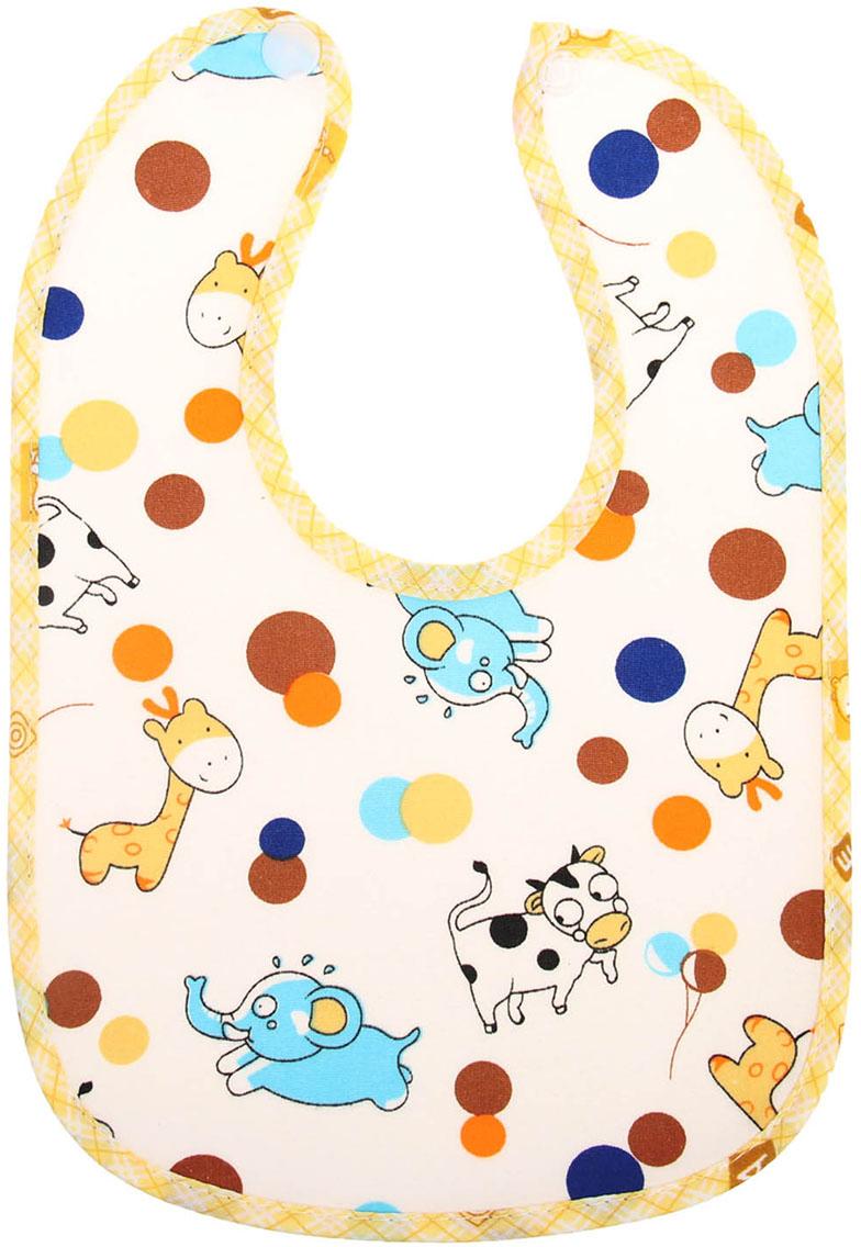 Нагрудник Слоник корова жираф 2849364