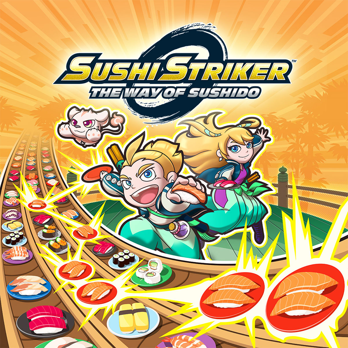 Sushi Striker: The Way of Sushido (3DS) цена и фото
