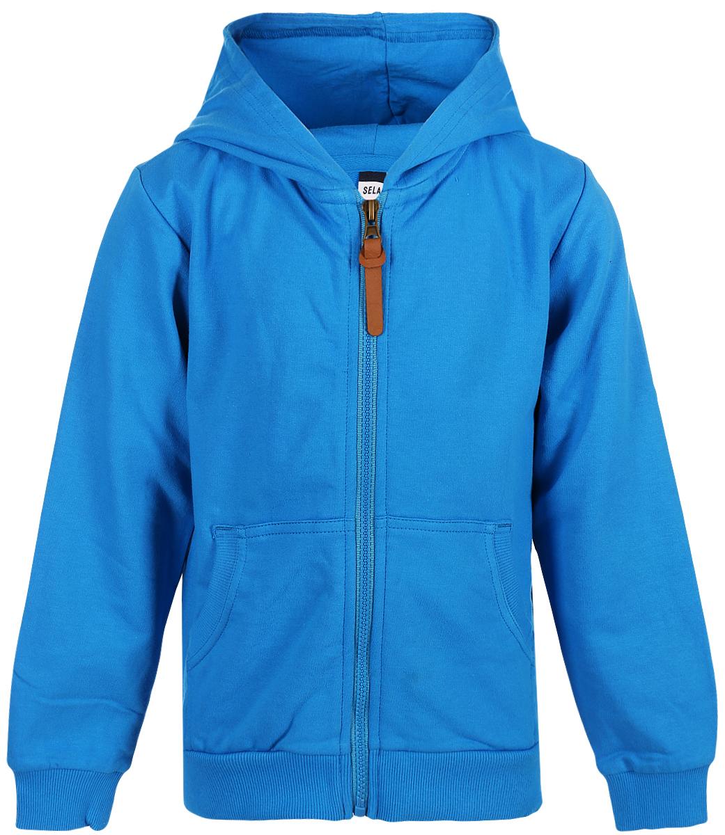 Жакет для мальчика Sela, цвет: синий. Stc-713/473-8213. Размер 116